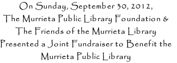 On Sunday, September 30, 2012,